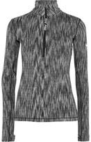 Nike Hyperwarm Stretch-knit Top - Light gray