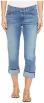 NYDJ Dayla Wide Cuff Capris in Jet Stream Women's Jeans
