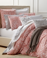 Charter Club Damask Designs CLOSEOUT! Damask Designs Paisley Hibiscus Bedding Collection, Created for Macy's