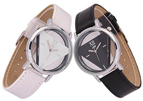 Alpha A (アルファ エー) - Meily トライアングル盤腕時計 ペアウォッチセット