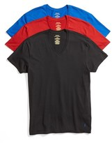 Polo Ralph Lauren Men's 3-Pack V-Neck T-Shirts