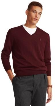 Polo Ralph Lauren Men's Washable Merino Wool Sweater