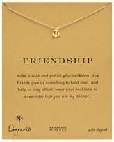 Dogeared Freindship Anchor Necklace
