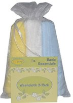 I Play I-Play Baby Washcloth Gift Set - Choice of Pastel Colors