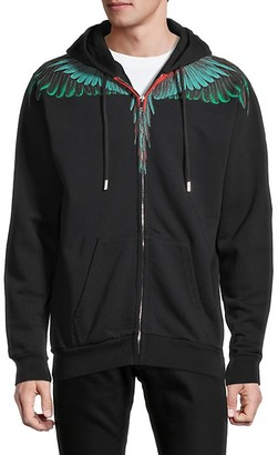 Marcelo Burlon County of Milan Hooded Cotton Jacket