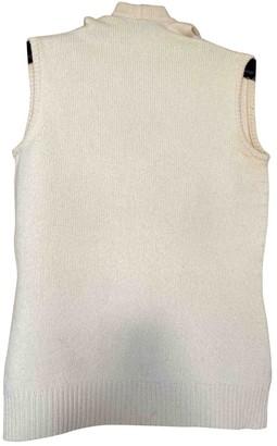 Celine White Cashmere Knitwear for Women Vintage