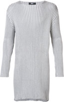 Yang Li ribbed elongated jumper