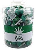 Vienna Triple Lanolin Aloe Vera Hand Body Lotion 0.75 Ounce (72 Pieces) Tub (20ml)