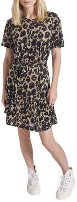 Current/Elliott The Crystal Leopard-Print Dress