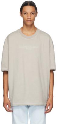 Maison Margiela Off-White Oversize Garment Dye T-Shirt