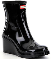 Hunter Refined Mid Wedge Short Rain Boots