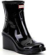 Hunter Women's Original Refined Mid Wedge Short Rain Boots