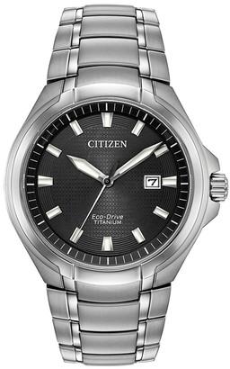 Citizen Men's Standard Super Titanium Eco-Drive Watch, 43mm