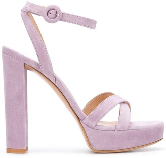 Gianvito Rossi Crossover Strap Sandals