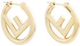 Fendi F logo earrings