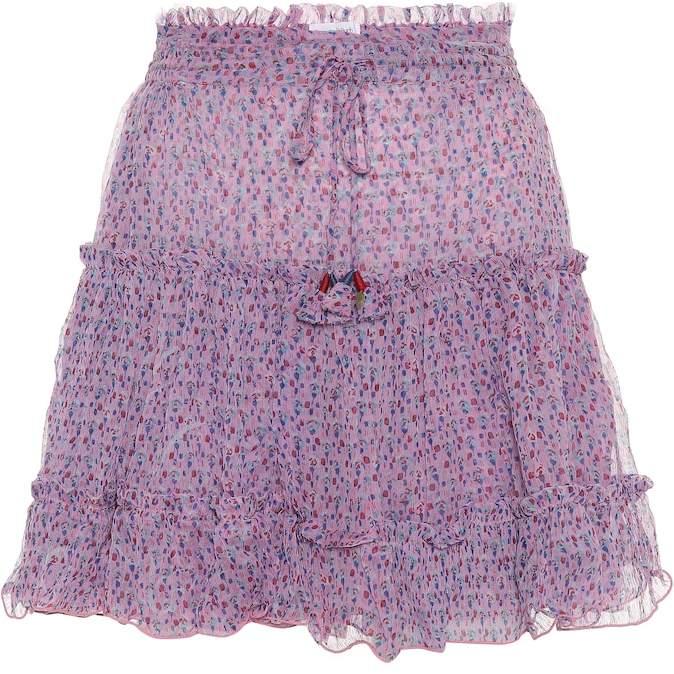 86e44143b169e8 Chiffon Mini Skirt - ShopStyle