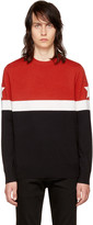 Givenchy Black Colorblocked Star Sweater