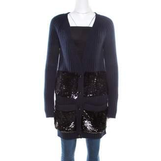 Louis Vuitton Navy Cashmere Knitwear