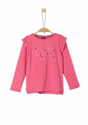S'Oliver Girls' 53.909.31.8889 Longsleeve T-Shirt
