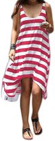 Laryana Women's Cover up Mini Dress Sundress Swim Wear Beach Skirt