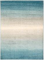 Nourison Perception PER06 Blue Rectangle Rug 2.3 x 7.6'