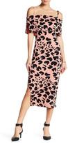 Rachel Pally Pascal Off-the-Shoulder Print Dress