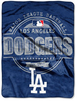 Northwest Company Los Angeles Dodgers Micro Raschel Structure Blanket