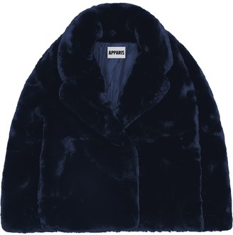Apparis Manon faux-fur coat