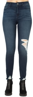 Rewash Juniors' Stevie High-Rise Skinny Jeans