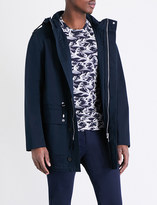 Sandro Flap-pocket cotton-blend jacket
