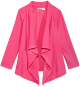 Epic Threads Ribbed Open-Front Cardigan, Toddler & Little Girls (2T-6X), Only at Macy's