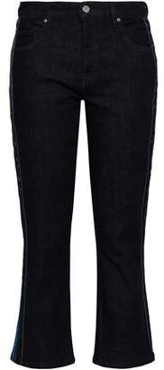 Victoria Victoria Beckham Victoria, Victoria Beckham Cropped High-rise Bootcut Jeans