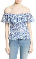 Rebecca Taylor Women's Off The Shoulder Top