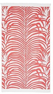 Matouk Cotton Zebra Palm Beach Towel