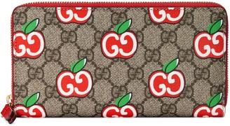 Gucci Chinese Valentine's Day zip around wallet