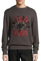 True Religion Printed Crewneck Sweatshirt