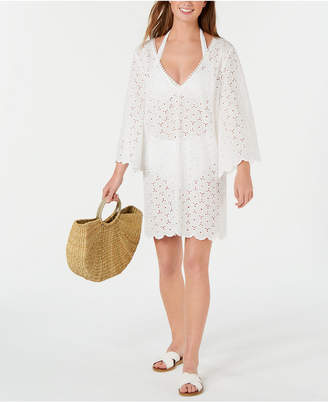 Kate Spade Cotton Eyelet Cover-Up Dress Women Swimsuit