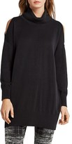 BCBGeneration Cold-Shoulder Sweater Tunic