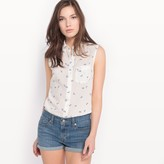 Levi's Sleeveless Printed Blouse