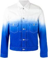 Comme des Garcons ombré denim jacket - men - Cotton - S