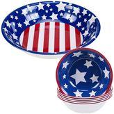 Certified International Stars & Stripes 5-pc. Salad Serving Set