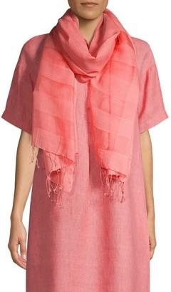 Eileen Fisher Organic Cotton-Blend Scarf
