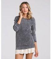 Billabong Junior's Right Away Oversized French Terry Sweatshirt