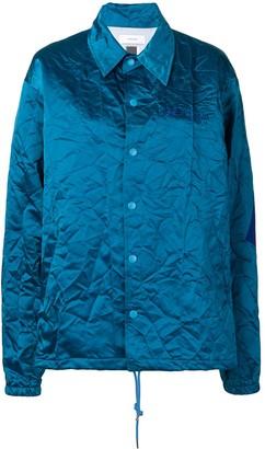 Facetasm Crinkle-Effect Jacket