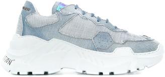 Philipp Plein Runner Statement denim sneakers