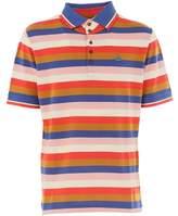 Vivienne Westwood Men's Multicolor Cotton Polo Shirt.