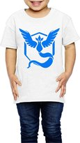LDMH Kid's Pokemon Go Articuno T Shirt For 2-6 Year