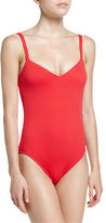 Seafolly Goddess V-Neck One-Piece Swimsuit