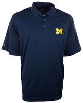 Antigua Men's Michigan Wolverines Pique Extra-Lite Polo Shirt