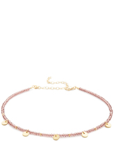 Shashi Crystal Disc Choker Necklace